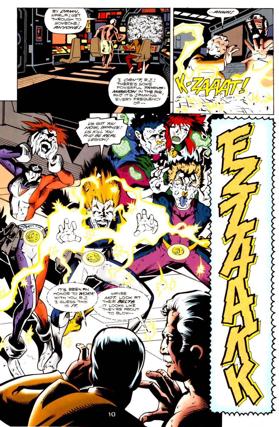 Legion of Super-Heroes (1989) 115 Page 10