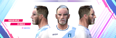 PES 6 Faces Vasilios Vitlis by Gabo CR Facemaker