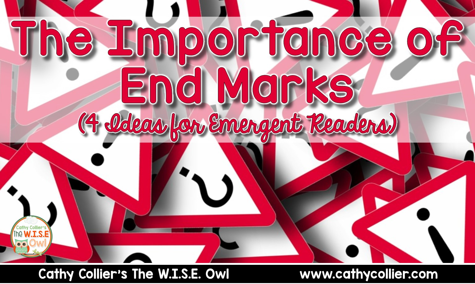 Talking about end marks from the beginning of reading instruction can be a powerful tool to enhance fluency and comprehension.  There are 4 activities for using end marks with emergent readers.