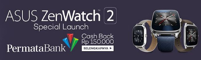 Lazada Asus ZenWatch 2 Special Launch
