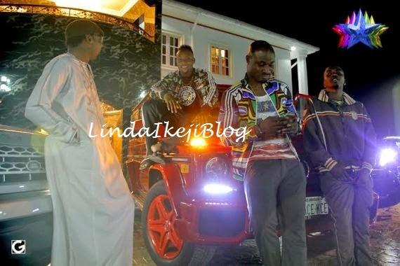 kceegwagonbirthday+present+lindaikejiblog3 Kcee Gets 2013 Benz G Wagon From Brother As Birthday Gift [See Photos]