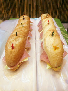 iMunchies' submarine sandwich