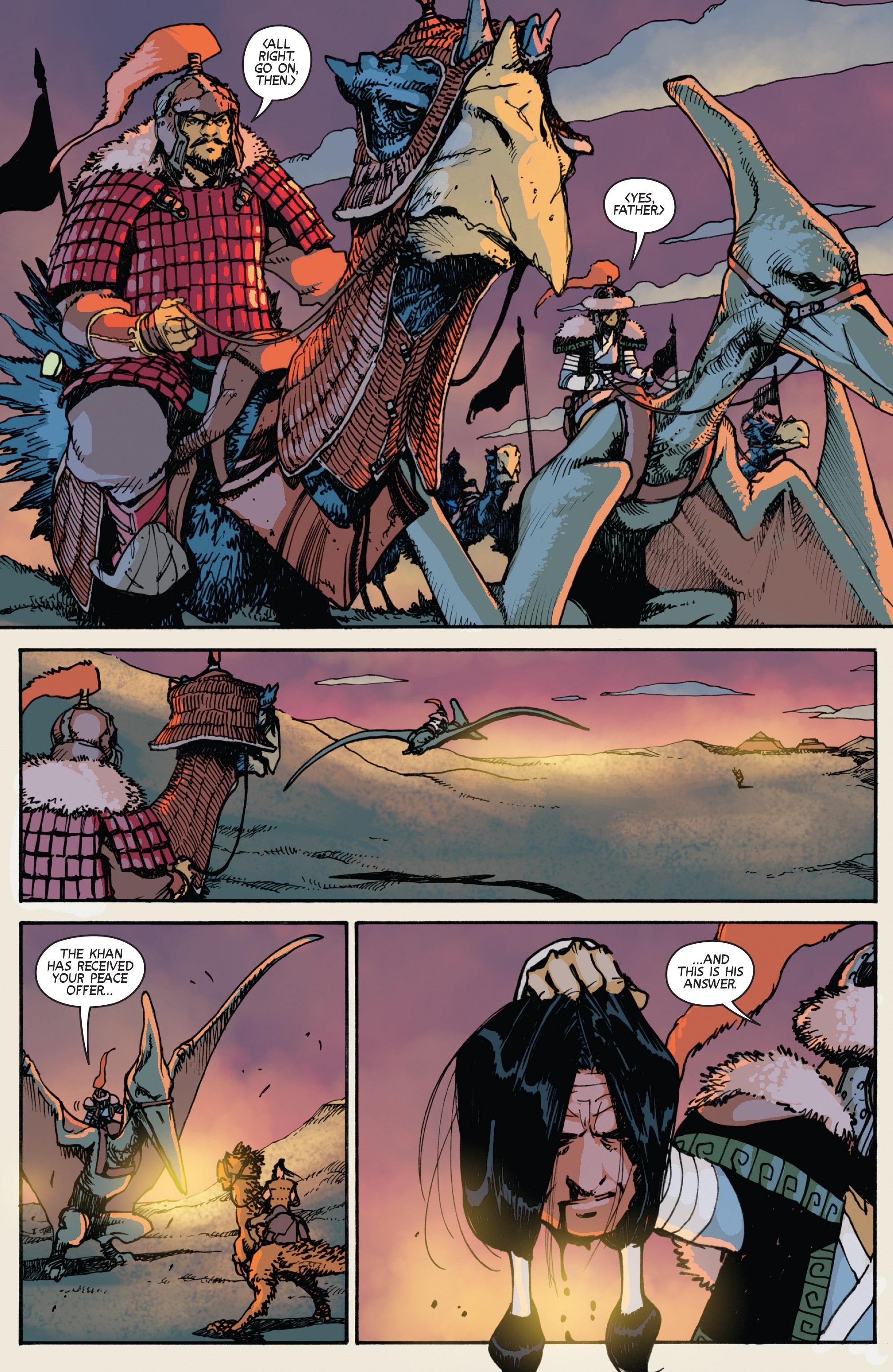Read online Turok: Dinosaur Hunter (2014) comic -  Issue # _TPB 2 - 78