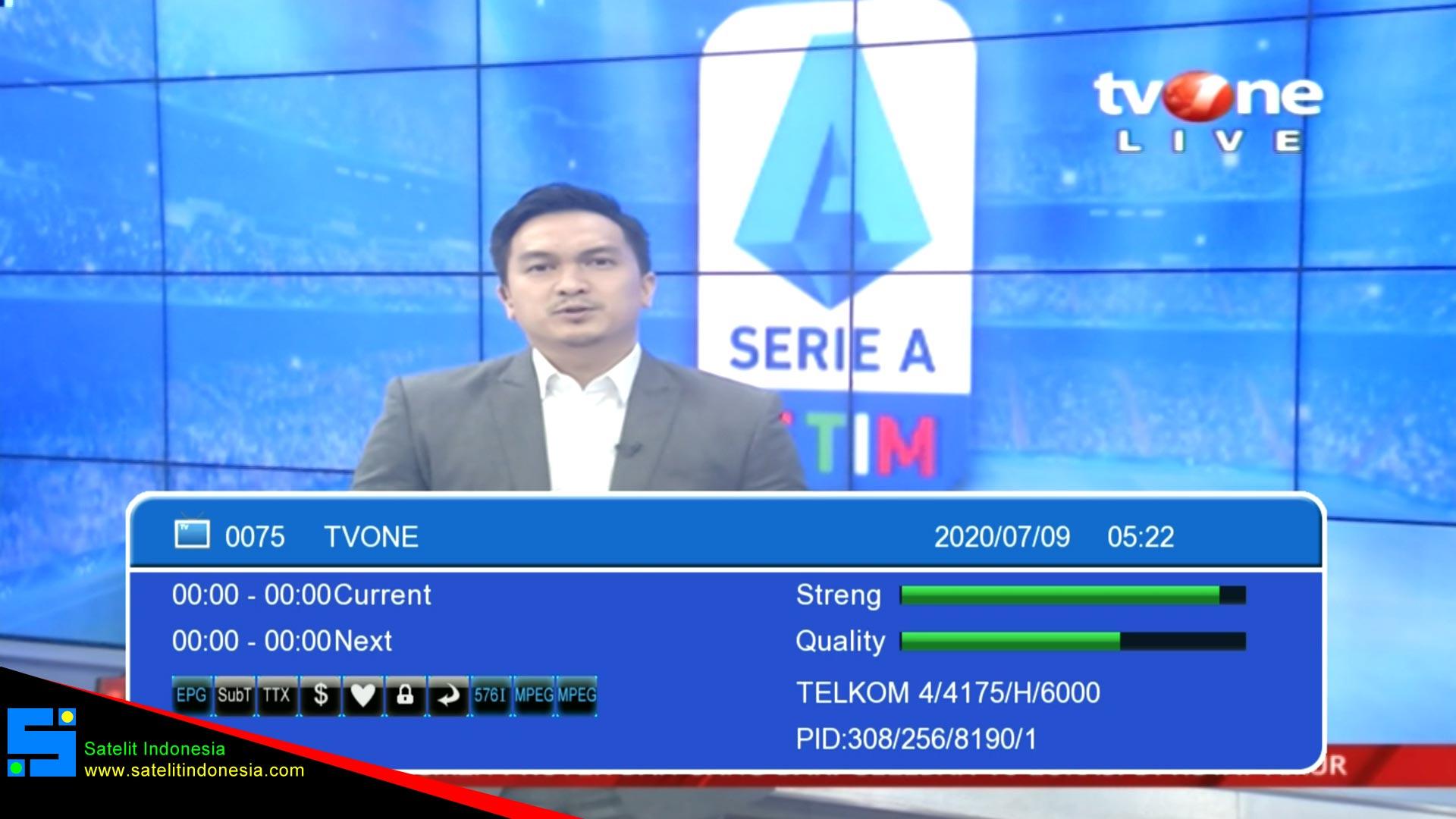 Cara Mencari Siaran TV One Di Parabola Telkom 4 Terbaru