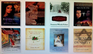 a yucky screenshot of some new books