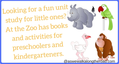 Zoo animals unit study