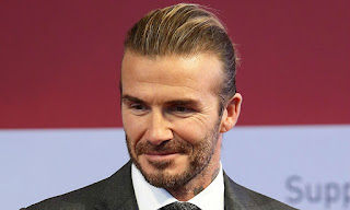 43-year-old David Beckham was the fifth time