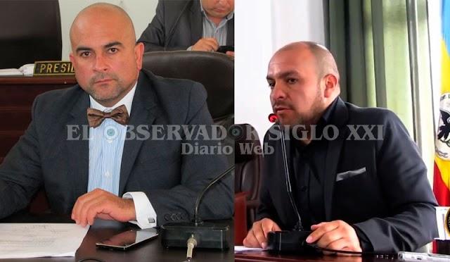 Presidente y secretario general del Concejo de Facatativá vetaron a El Observador Siglo XXI