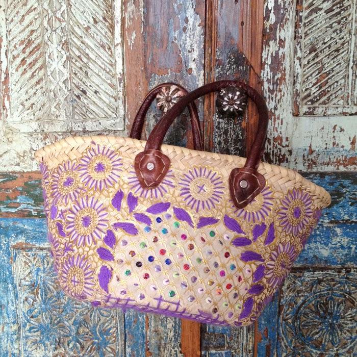 モロッコのマラケシュのスークでぼられて買ったかわいいかごバッグと値段