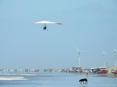 Tracker Sobrevoando Praia do Cassino