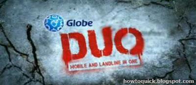 Globe Duo Promo