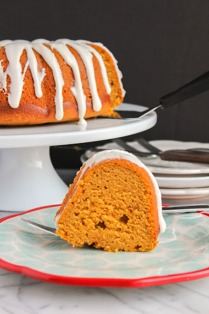 Pumpkin Pound Cake with Buttermilk Glaze | The Chef Next Door