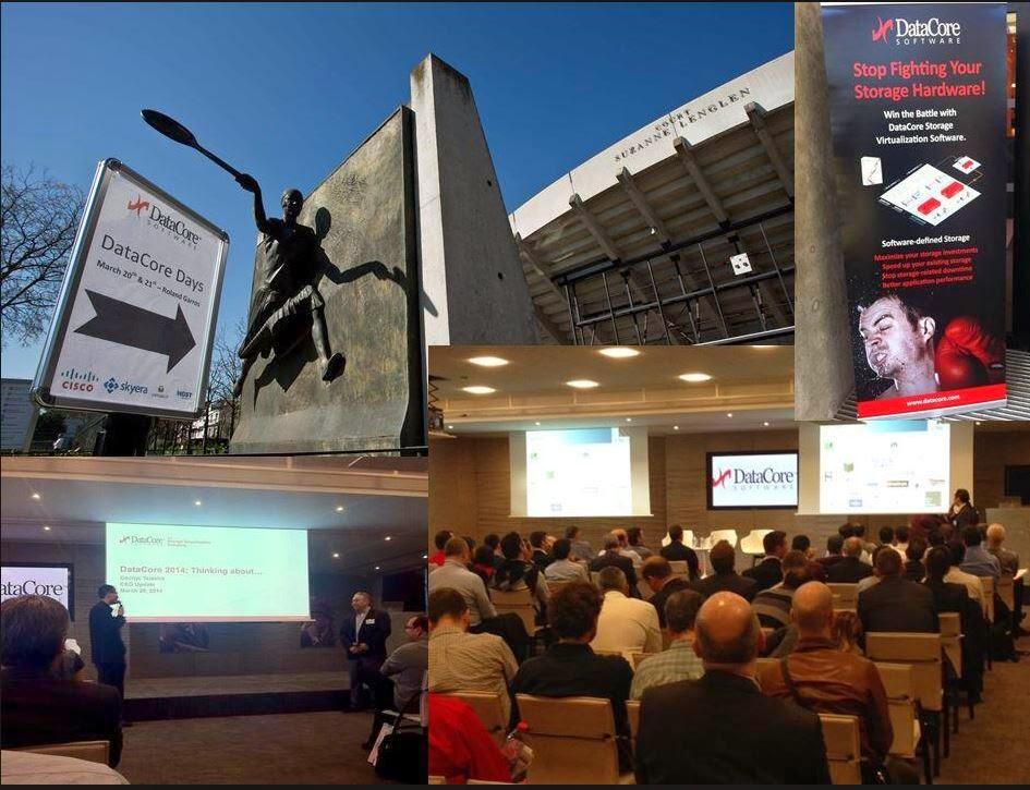 « L'année du Software Defined Storage » DataCore Days à Stade Roland Garros
