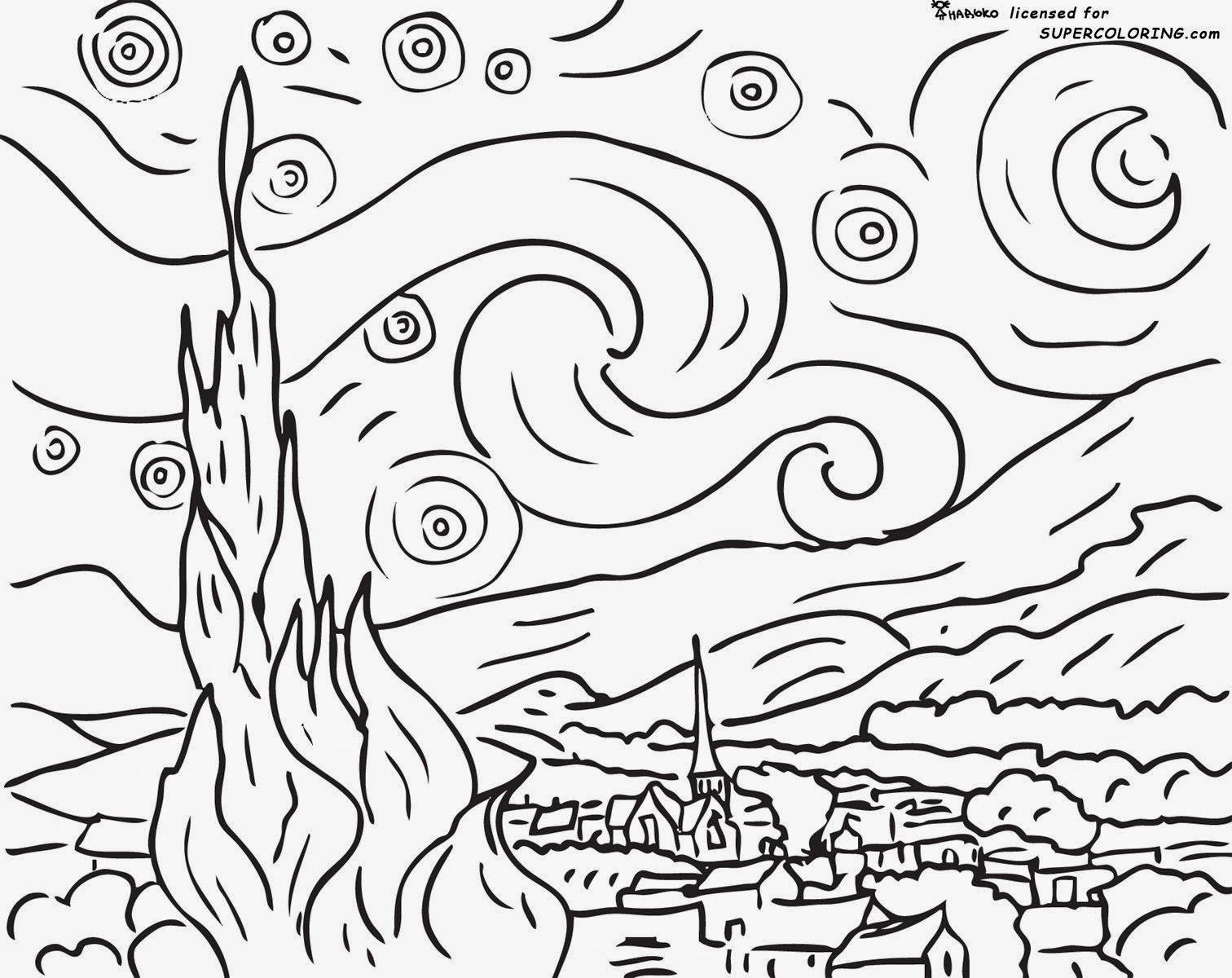 Pintores Famosos: Van Gogh Para Niños. Vídeos, Dibujos