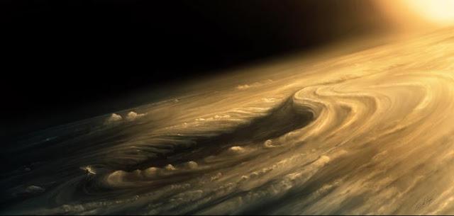 El vortice de Venus