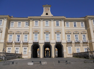 The Royal Palace at Portici, where Maria Theresa was born