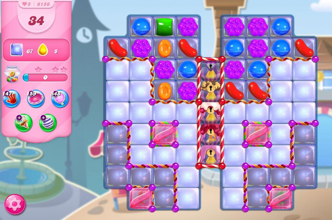 Candy Crush Saga level 6156