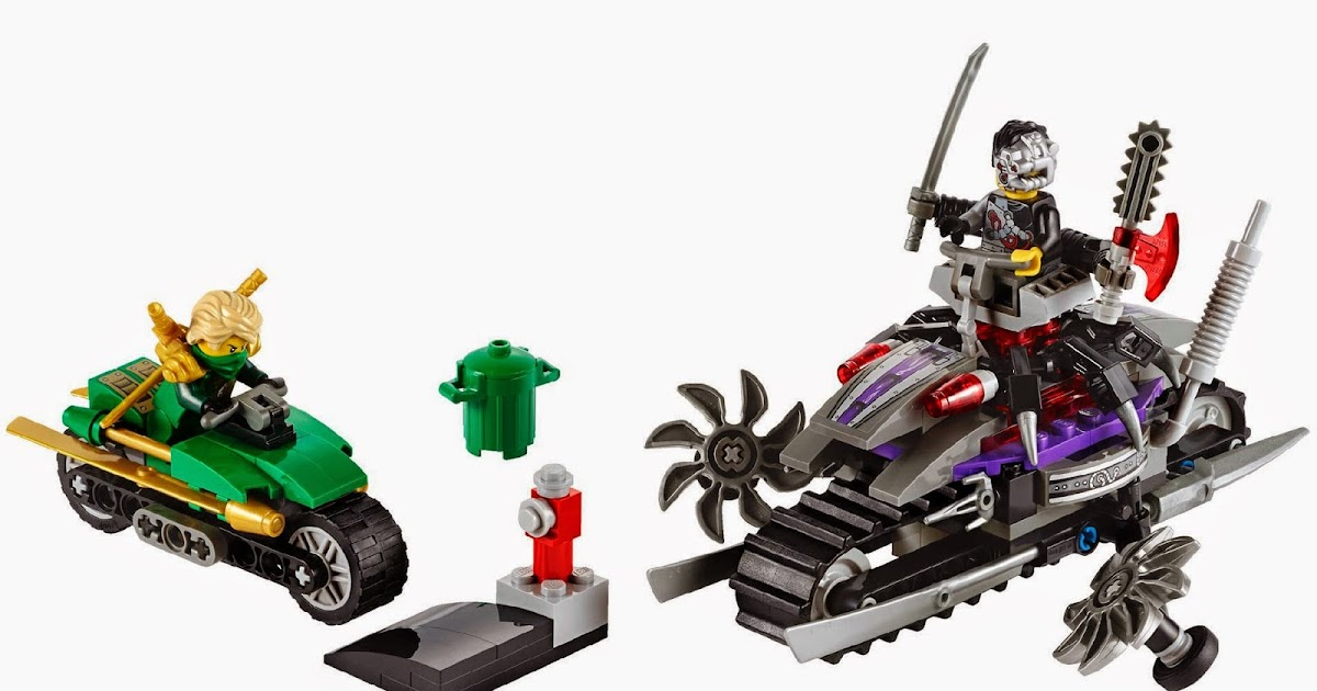 My Interest: Lego Ninjago Rebooted