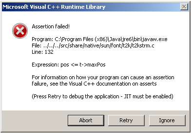 How to Fix Windows Microsoft Visual C + + runtime Error