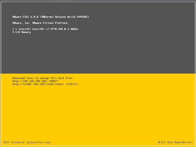 Manage Esxi Hosts Using DCUI