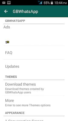 gbwhatsapp v4.83 screenshot