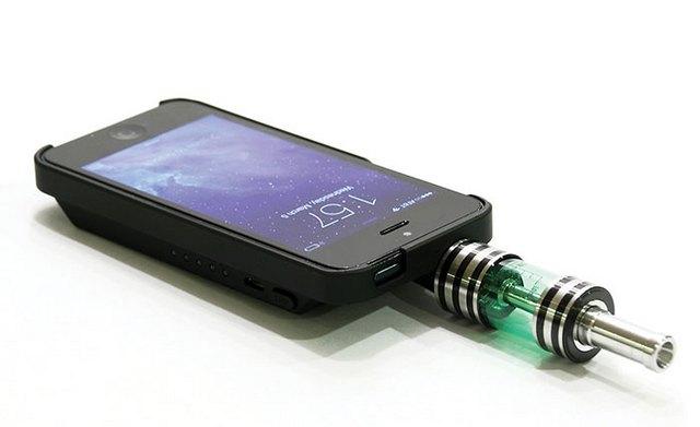 Чехол с электронной сигаретой