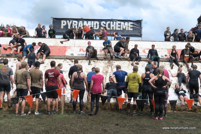 Tough Mudder Pyramid Scheme