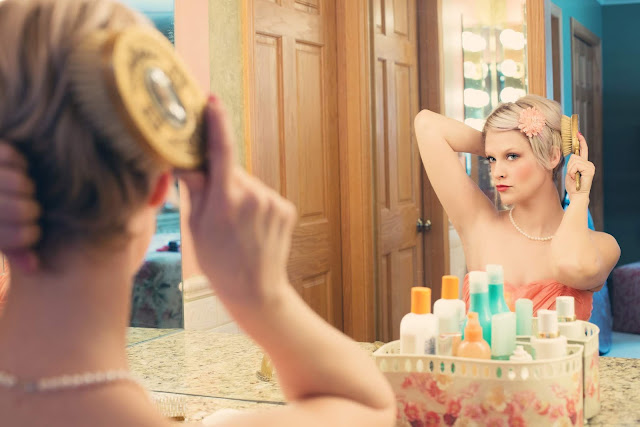 Arrumar o cabelo, unhas e pele