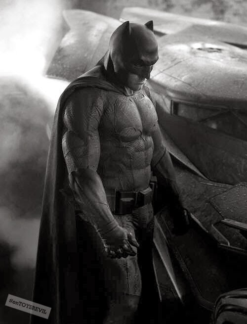 "Another Look At The Newly Revealed BATMAN (from ""Batman vs ..."