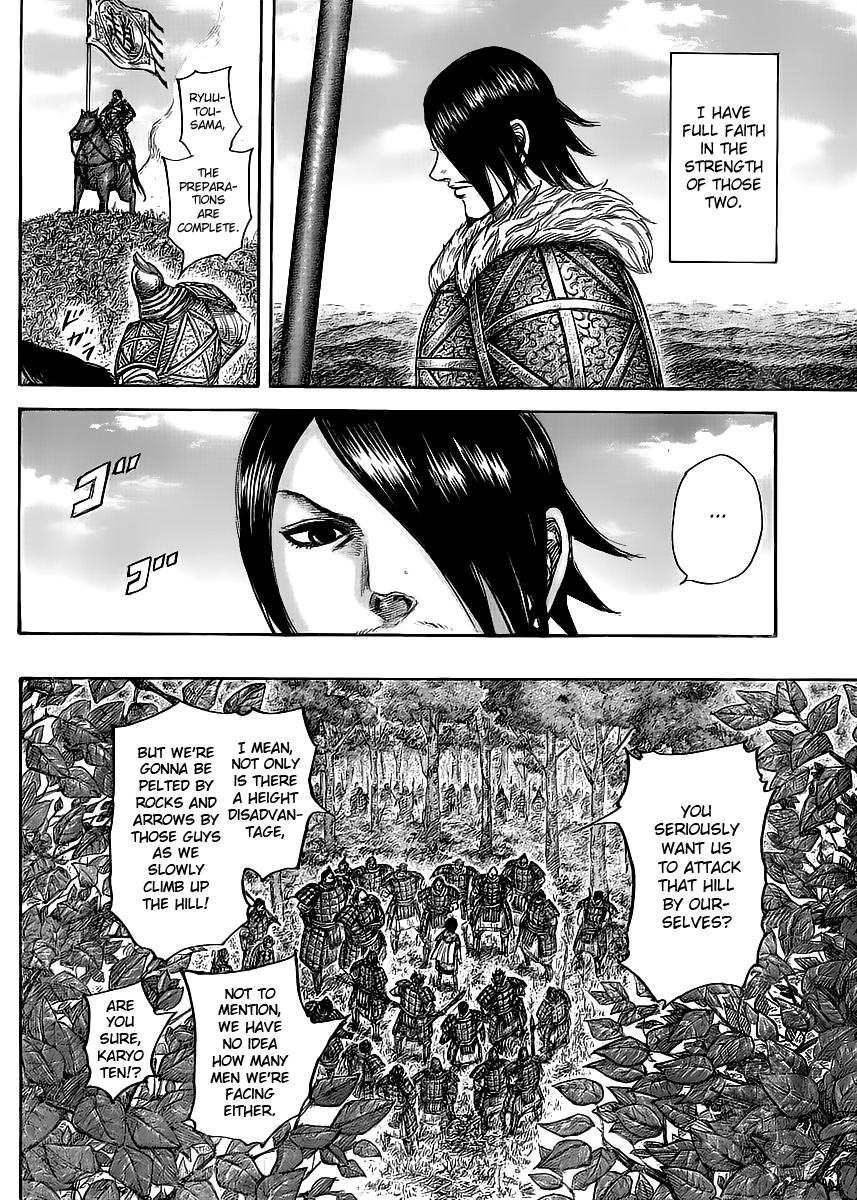 Kingdom - Chapter 450