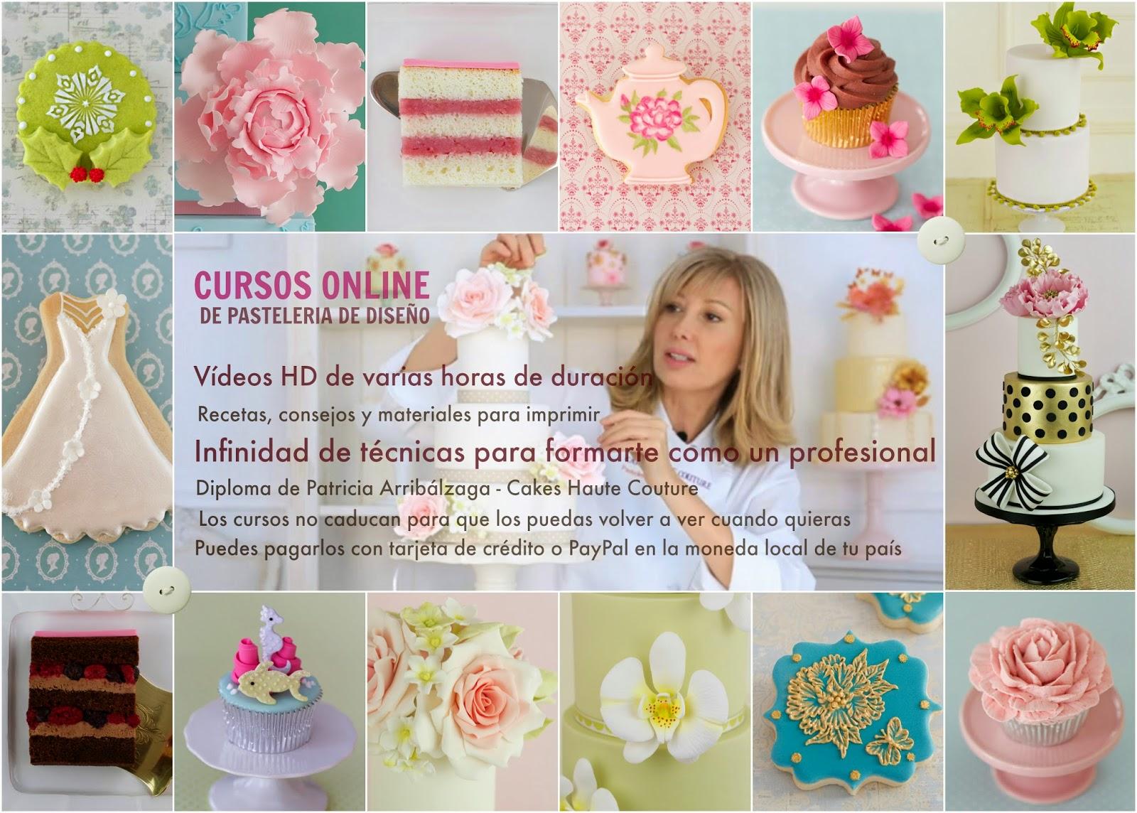 curso fondant, curso cupcakes, curso pastelería, curso galletas decoradas