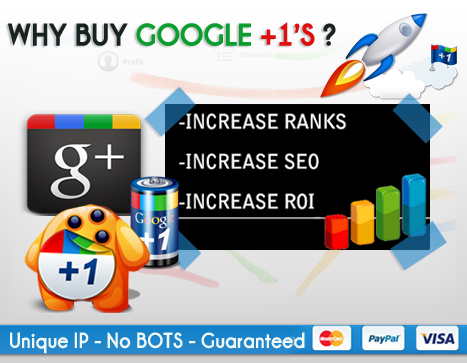 Increase your online visibility with effective content marketing: Buy Google plus shares