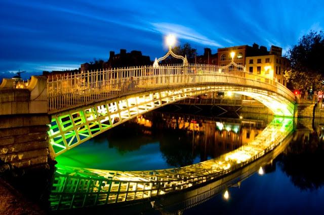 Passeios românticos em Dublin, Irlanda