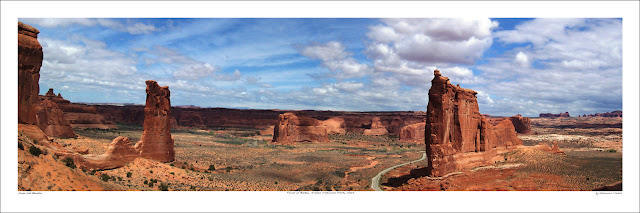 Tower of Babel Arches wide panoramic photo prints for sale, Shannon Martin wikipedia Owen Art Studios Panoramas
