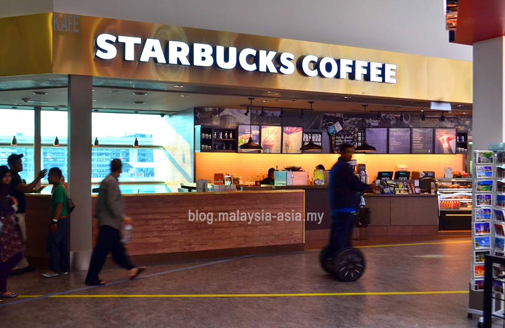 starbucks at domestic arrival in klia2
