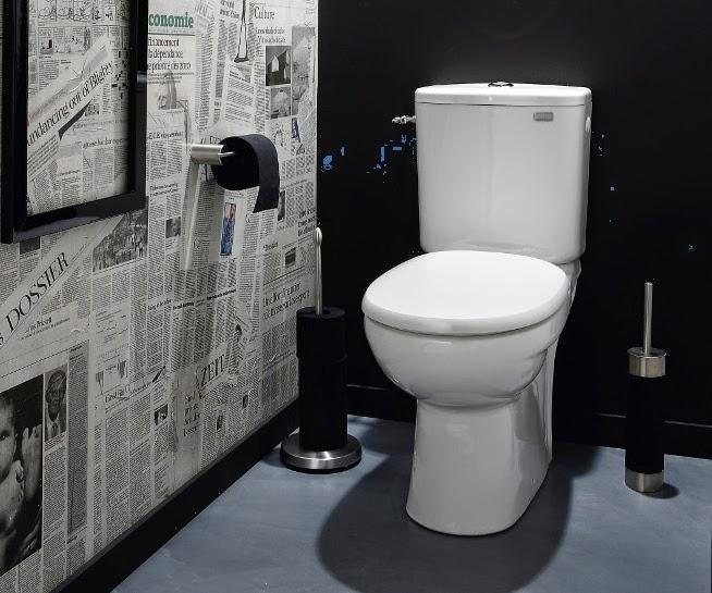 papier peint pour toilette original. Black Bedroom Furniture Sets. Home Design Ideas