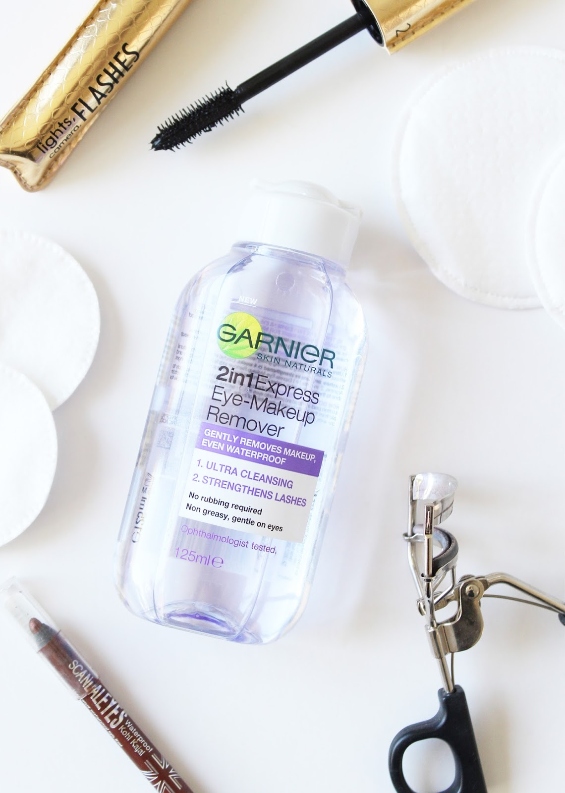 Garnier 2 In 1 Express Eye Makeup Remover Review Cassandramyee