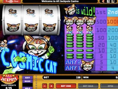 Cosmic Cat Slots