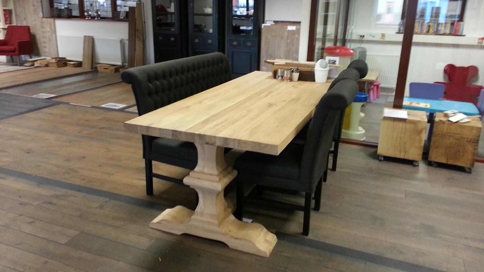 Rustieke landelijke tafel lindisfarne