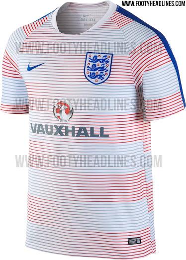 343359dd2a4 Nike England Euro 2016 Pre-Match and Training Kits Leaked - Leaked ...