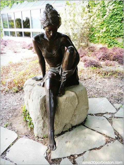"Esculturas del Fort Worth Botanic Garden: ""Naiads"""