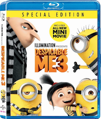 Despicable Me 3 2017 Eng 720p BRRip 700Mb ESub x264
