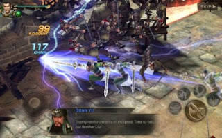 Dynasty Warriors Unleashed Apk Mod v1.0.10.3 (High Attack+Defense)