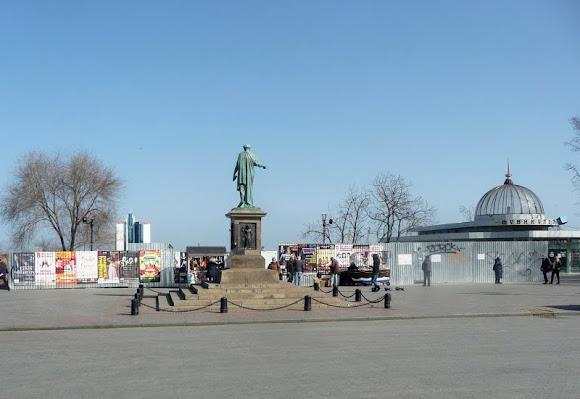 Одесса. Памятник Дюку Ришелье