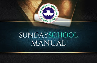 RCCG Sunday School Teacher's Manual 19th November 2017 Lesson 12