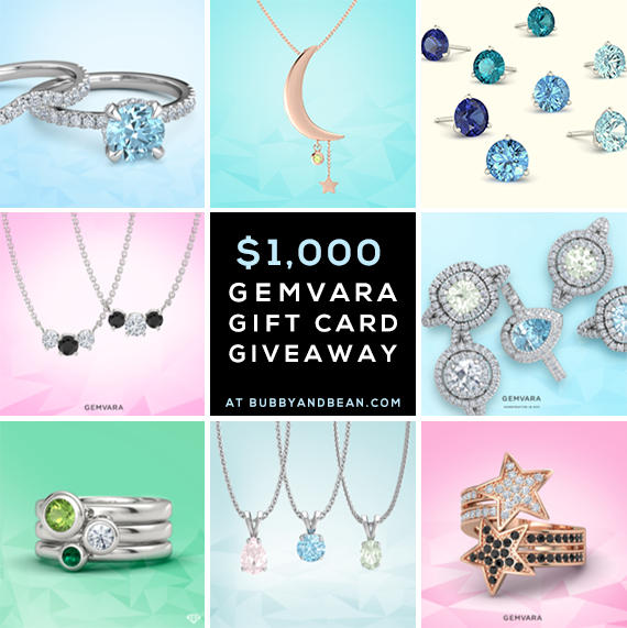 GIVEAWAY // Win a $1,000 Gemvara Gift Card at Bubby and Bean!