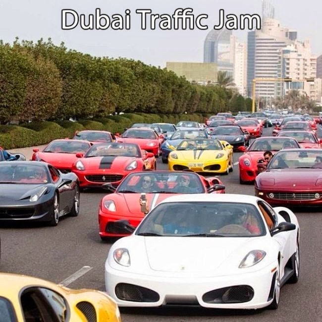 Autos lujosos en Dubai