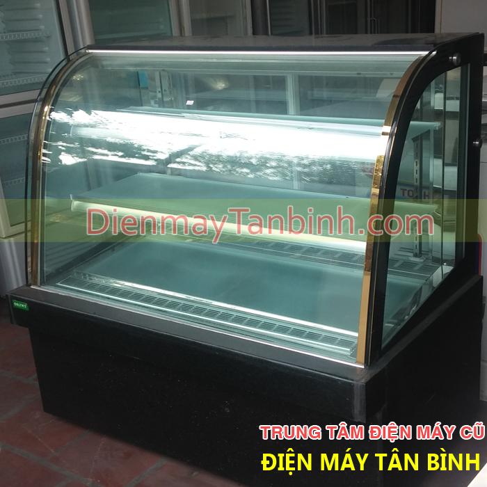 Bán thanh lý tủ lạnh bánh kem Okiwi dài 1,2m