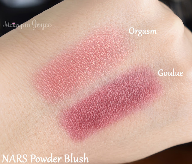 Nars Orgasm Goulue Blush Swatches