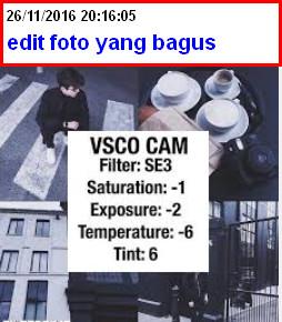cara edit foto yang bagus